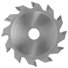 Lame carbure à rainer D. 150 x ép dents 4,0 x Al. 50 mm. 12 dents. Plate pour bois mm. - 361.150.4012 - Leman
