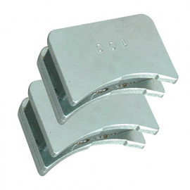 Jeu de 2 positionneurs magnétiques de fers pour D. 86 mm - 380.700.086 - Leman