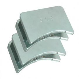 Jeu de 2 positionneurs magnétiques de fers pour D. 100 mm - 380.700.100 - Leman