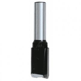 Mèche à rainer droite HM micrograin D. 3 mm L.U. 10 mm L.T. 50 mm Q. 8 mm - 408.703.00 - Leman