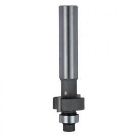 Mèche à feuillurer HM micrograin + guide D. 22,2 mm L.U. 9,5 mm L.T. 78 mm Q. 12 mm - 4622.722.00 - Leman