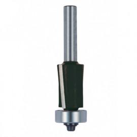 Mèche d' affleureuse biaisée négative HM + guide D. 19 mm L.U. 25,4 mm Q. 8 - 4628.719.00 - Leman