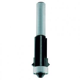 """Mèche d' affleureuse avec joint en """"v"""" HM + guide D. 12,7 mm L.U. 26 mm Q. 8 mm - 4678.713.01 - Leman"""
