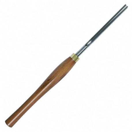 Gouge à creuser L. U. 260 mm largeur 10 mm épaisseur 9 mm - 873.510.00 - Leman