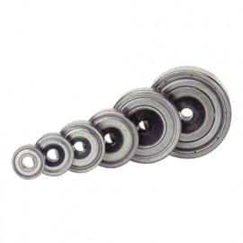 Roulement pour mèches de défonceuse D. 16 mm Al. 5 mm - 890.002.03 - Leman