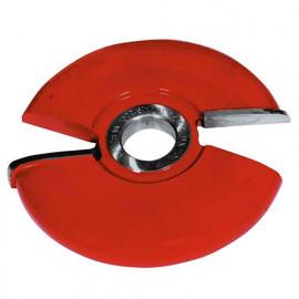Fraise plate-bande congé D. 160 mm x Al. 30 mm Z2 HM Sup. - 944.160.30.3000 - Leman