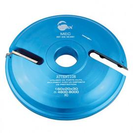 Porte-outils plate bande - travail dessus D. 150 mm Al. 30 mm Z2 profil N°1 - 948.150.30.01 - Leman