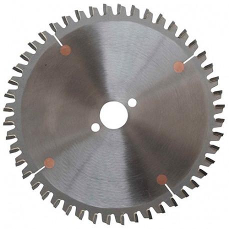 Lame carbure micro-grain D. 160 x Al. 20 mm. ép dents 2,5 mm. 48 dents neg. alt. - GOLD64.1602548 - Leman