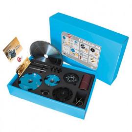 Coffret d'outils Al. 30 mm et accessoires multi-usages pour combiné - LEMAXIMUM - Leman